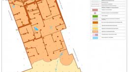 Карта зон с особыми условиями использования Дедуровского поселения по степени пригодности для строительства